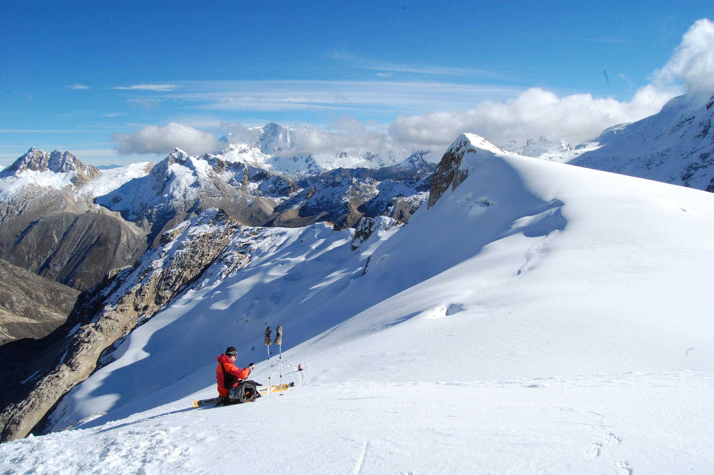 Ishinca climb, Cordillera Blanca, Peru