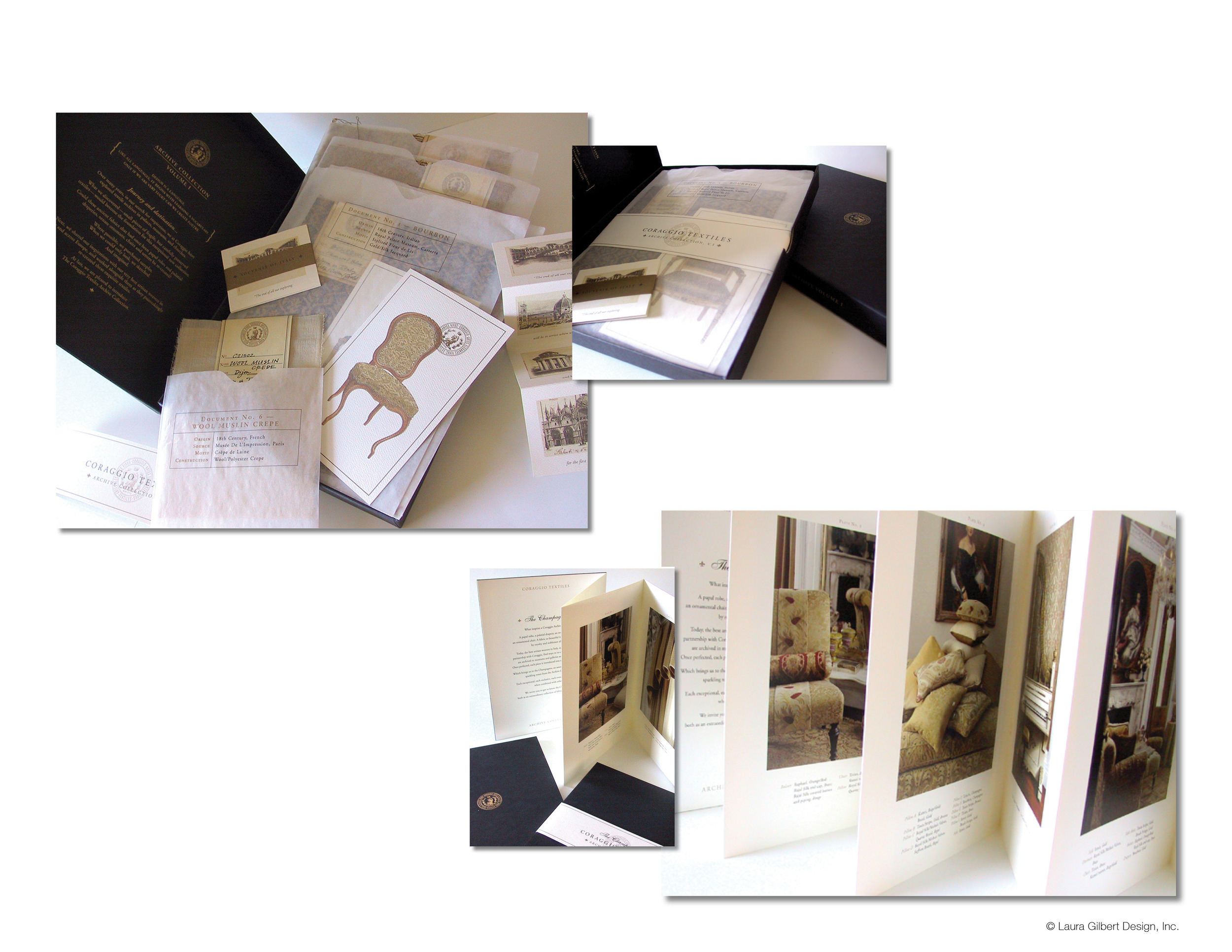 Limited edition promotional kit and hand-assembled direct mailer