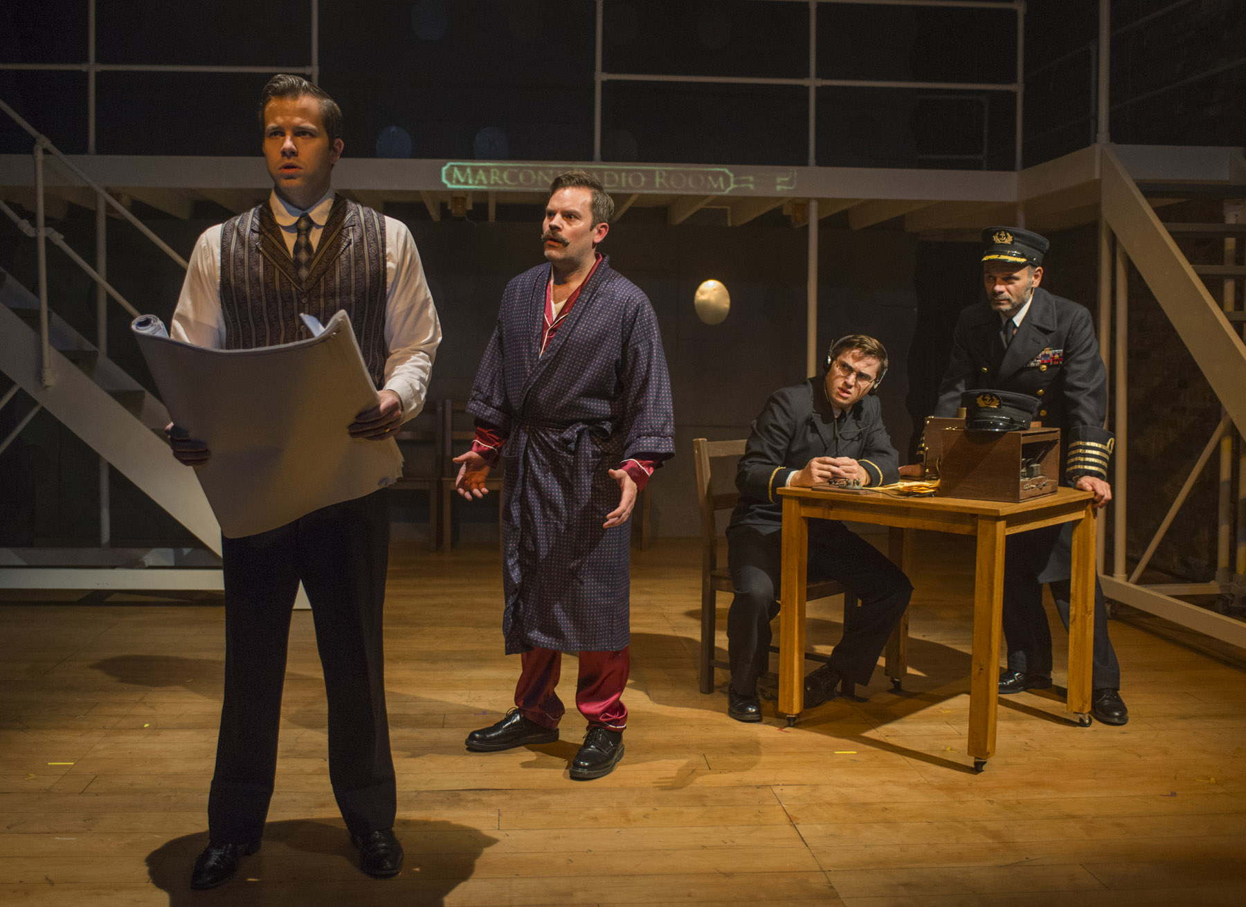 TITANIC, Griffin Theatre Co., directed by Scott Weinstein