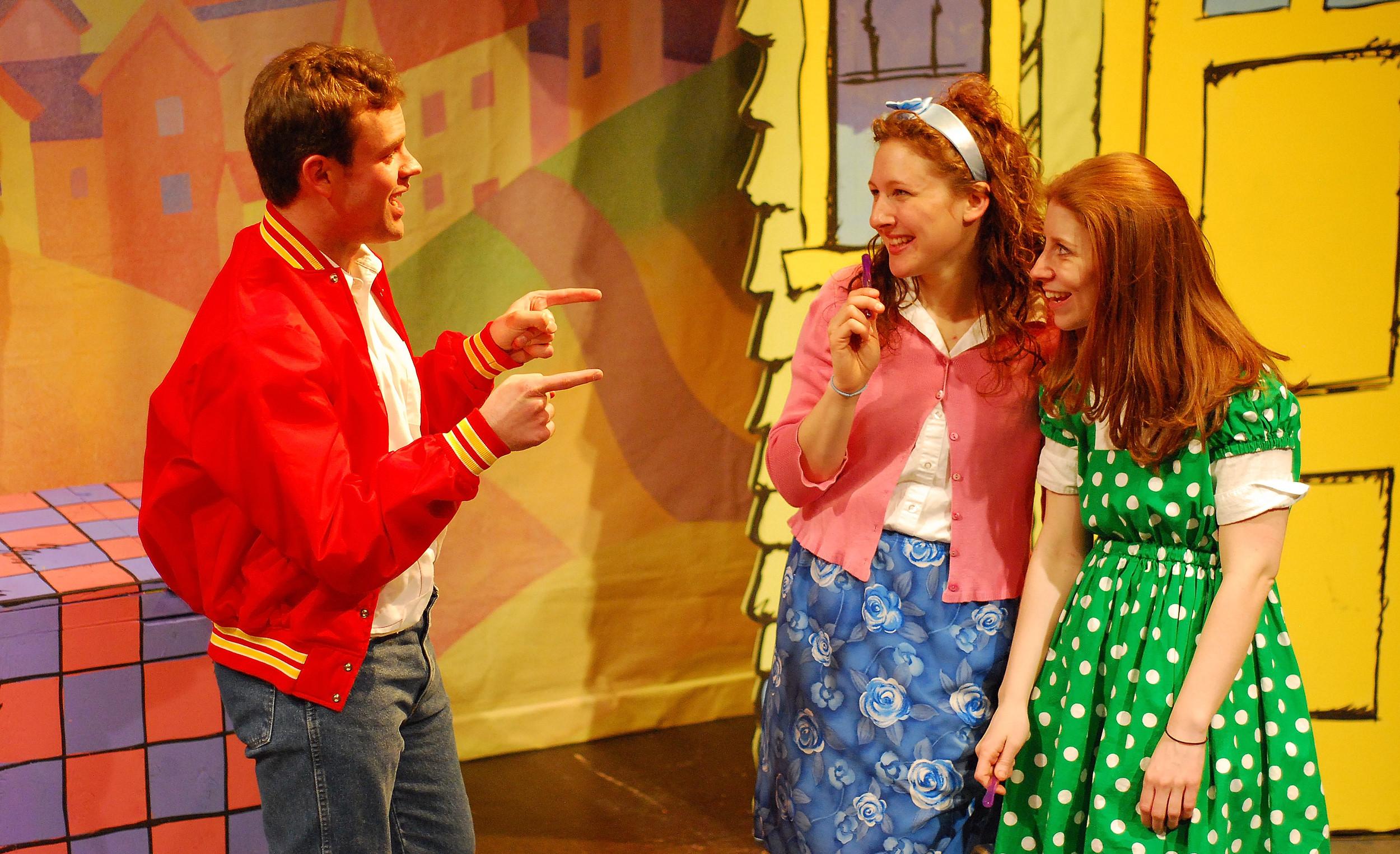 MRS. PIGGLE WIGGLE, Lifeline Theatre, directed by John Hildreth
