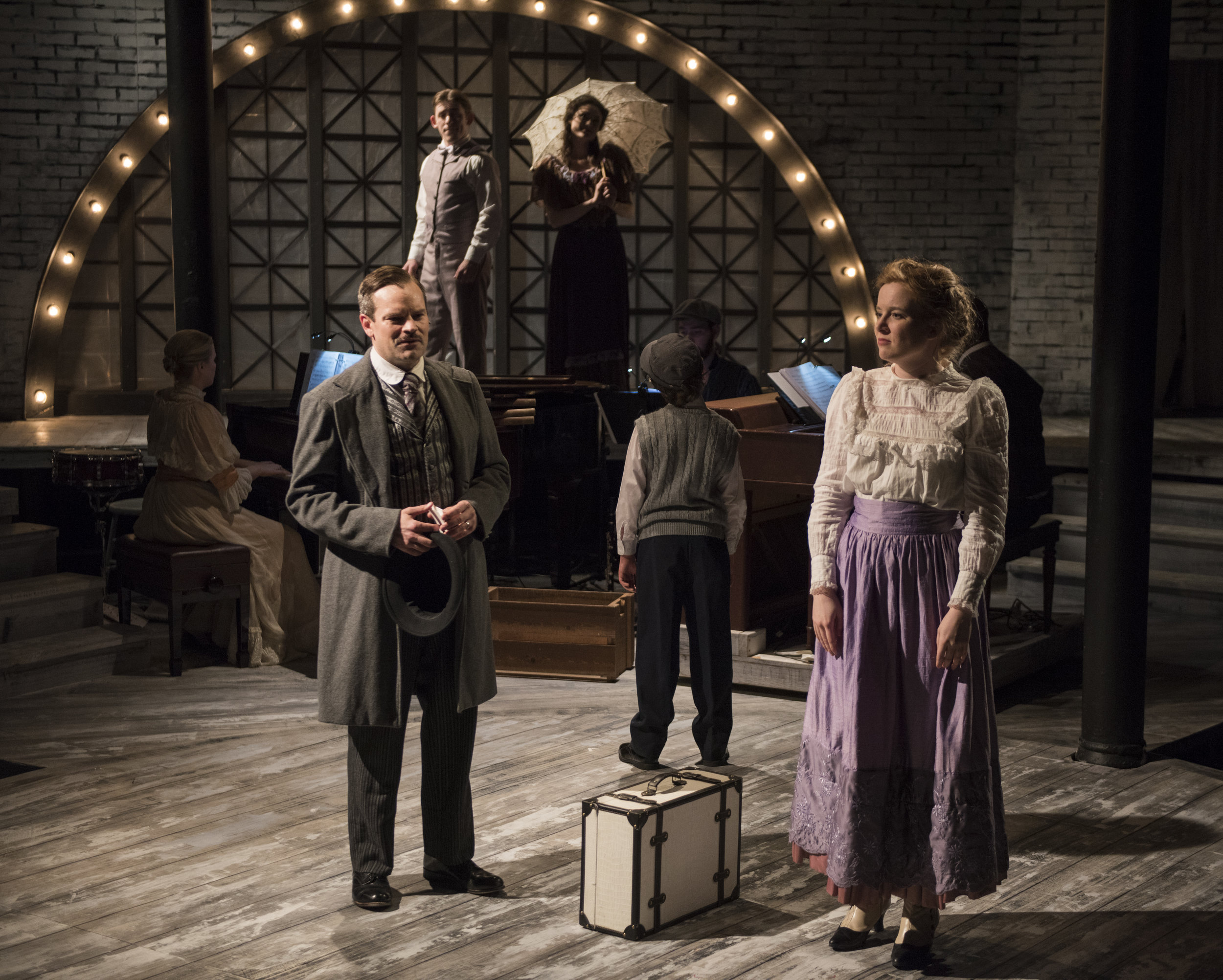 RAGTIME, Griffin Theatre, directed by Scott Weinstein. Photo by Michael Brosilow