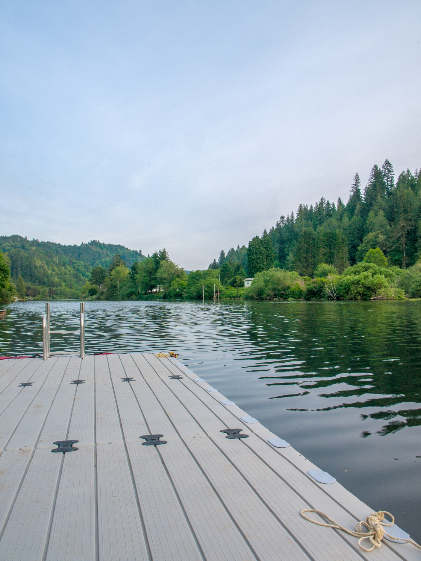 The dock: a great place to quietly read a book or dry yourself off in the sun after a refreshing swim.