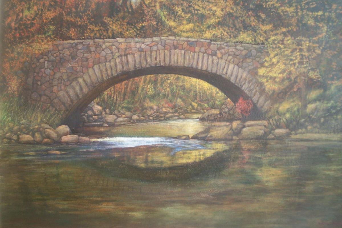 'Cobblestone Bridge'