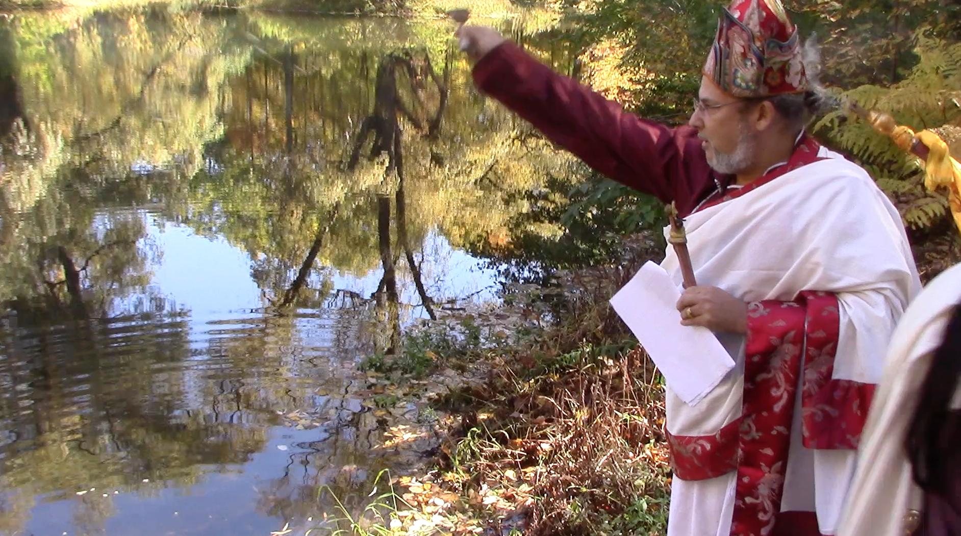 Offering the Ser Khyem