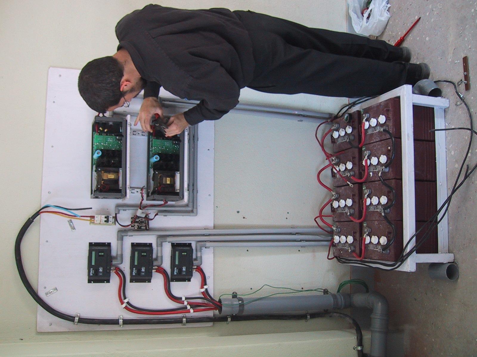 Solar Inverters and batteries.JPG .JPG