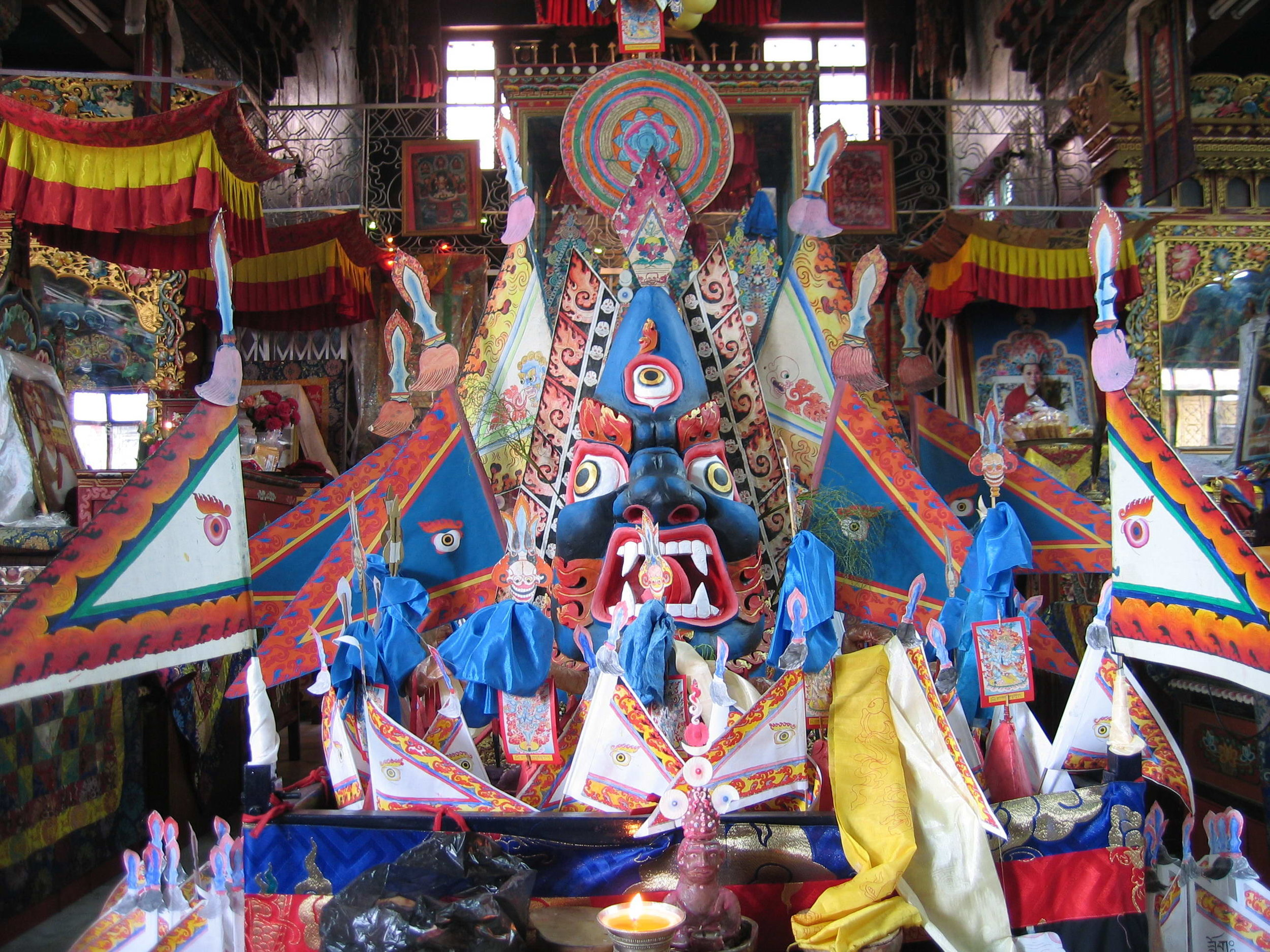 Vajrakilaya Main Reversing Torma
