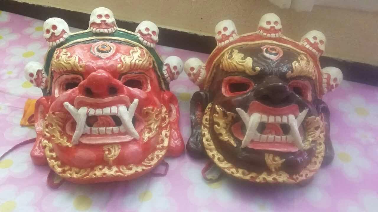 More masks for the Drupchen