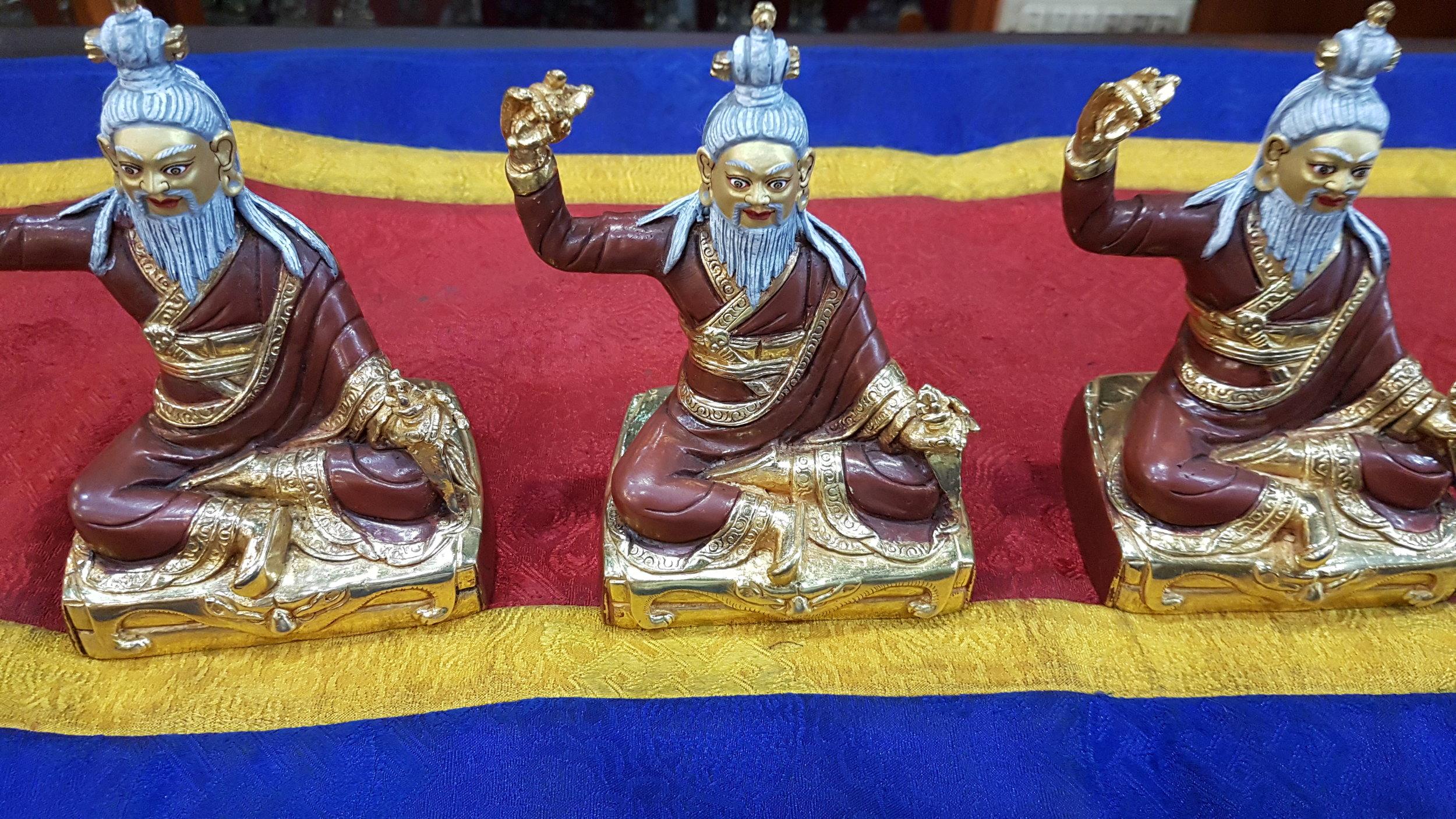 Copy of Dudjom Lingpa statues