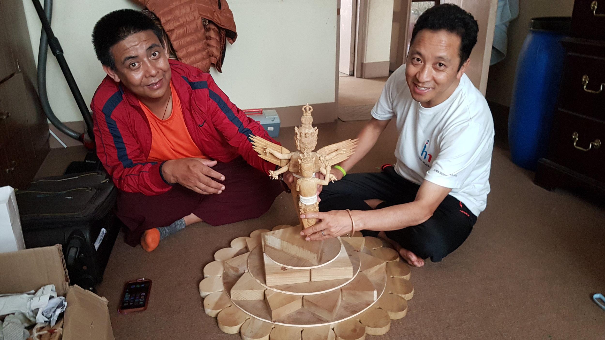 Copy of Lama Pema Thobchen and Amchi Sherab