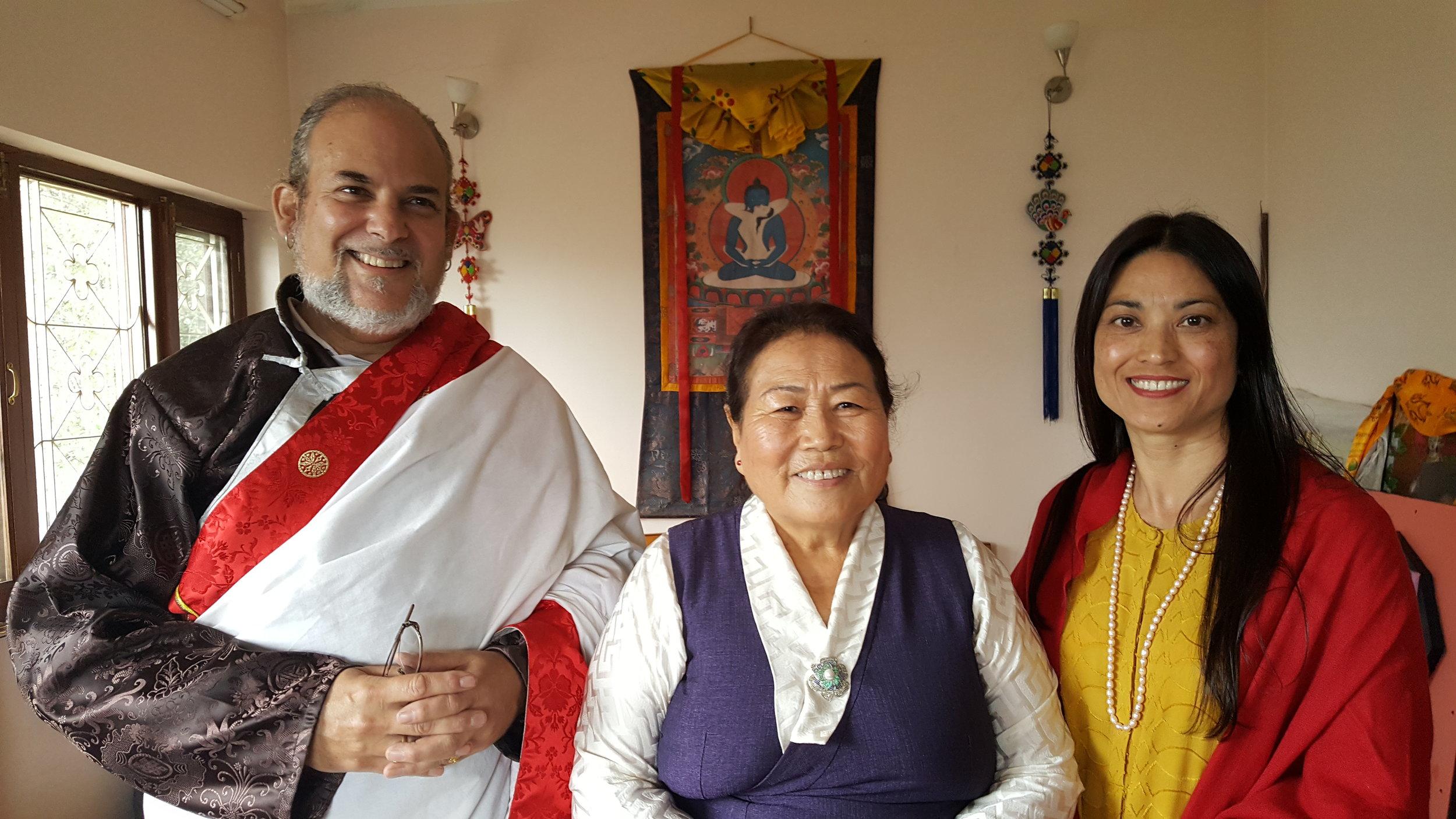 With Sangyum Kamala