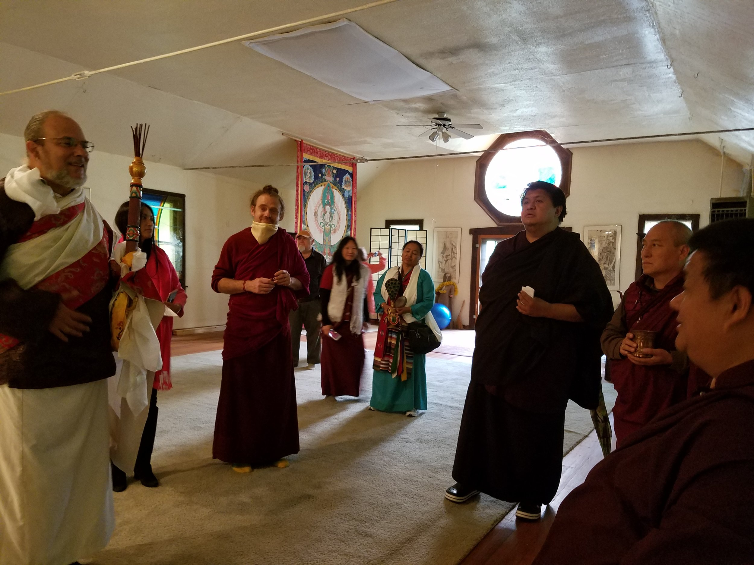 The Meditation Hall to be renovated this spring