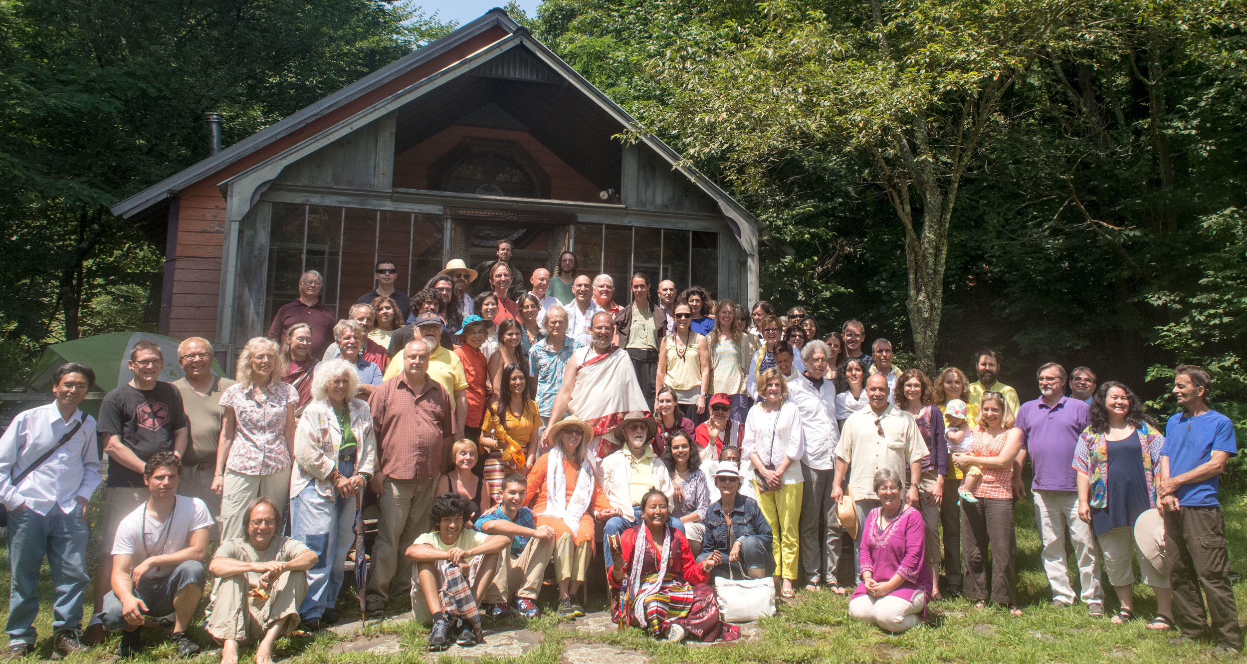 Bodhivastu's Big Indian Meditation Retreat center , Big Indian, NY