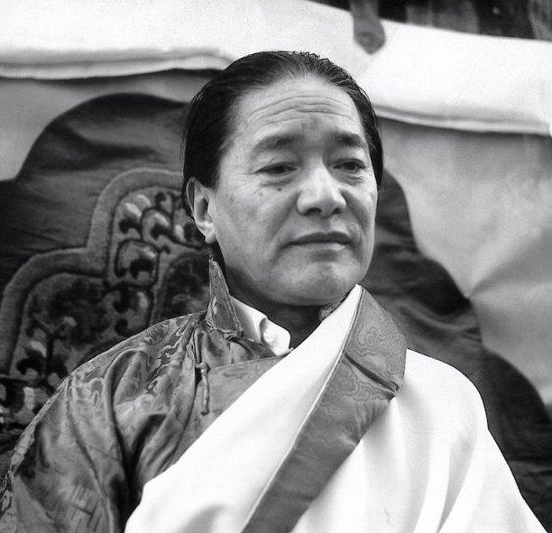 His Holiness Dudjom Jigdrel Yeshe Dorje Rinpoche
