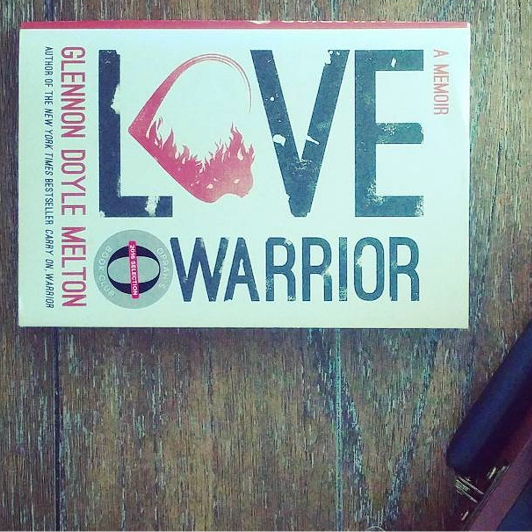 Love Warrior - This book changed me. It opened my heart wide open, gave me permission to feel fully and helped me pick myself back up after heartbreak. Glennon is a champion for equality, she is a ferocious advocate and an incredible writer. Her work inspires me, lifts me up and makes me want to keep writing. Not only that, she makes you laugh and makes you feel normal. I think I read this in two days, no joke. To get inspired and motivated to love yourself begin reading now.