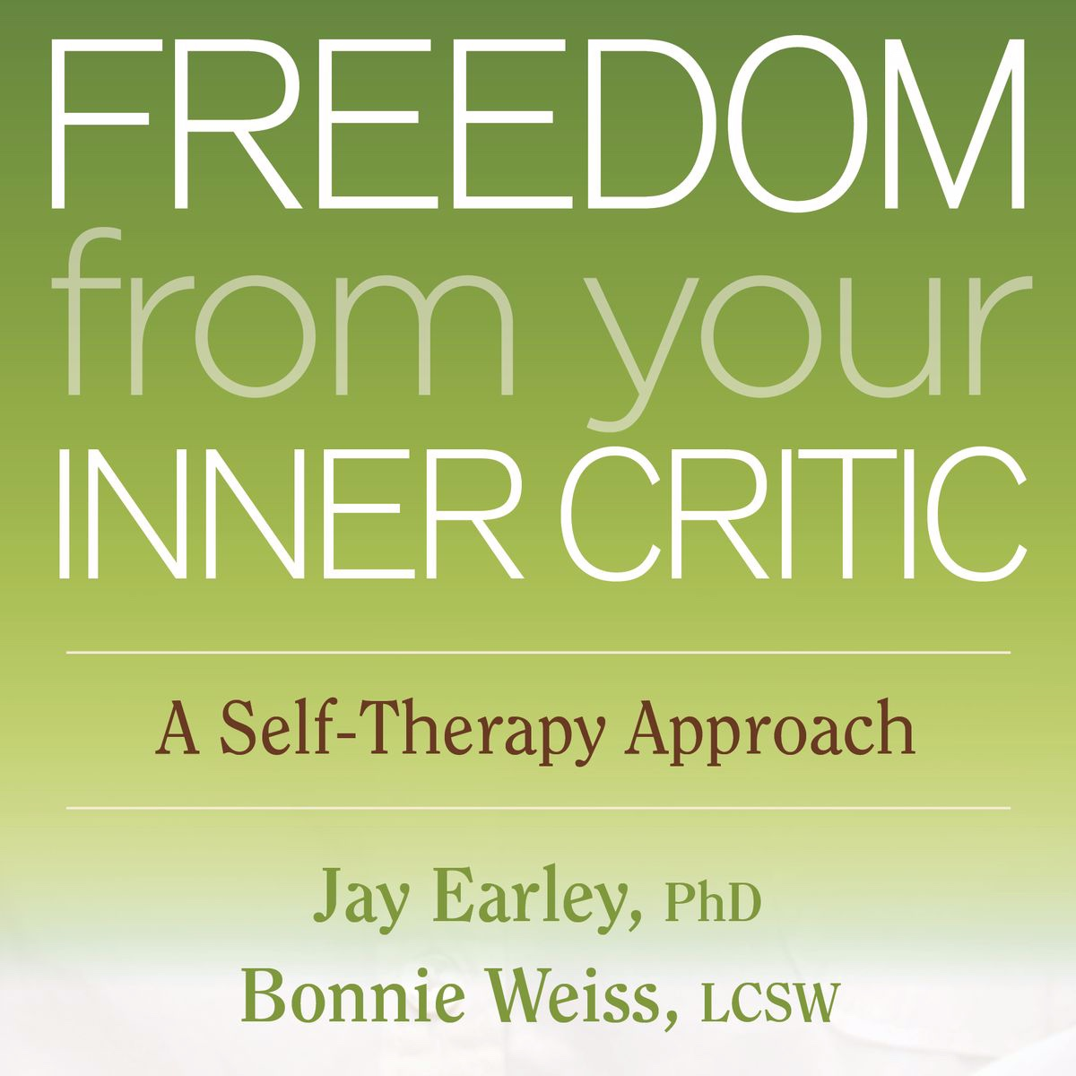 "Freedom From Your Inner Critic - If we end up working together we will spend a good amount of time working with your inner dialogue—you know, that commentary that exists in your head. We don't want to admit we have ""voices"" but the truth is, we all have parts that are a result of our nervous system coping with the world around us. This book is AMAZING—it is one of my favorite tools and you don't need to be an expert coach to apply it to your life. Get started today!"