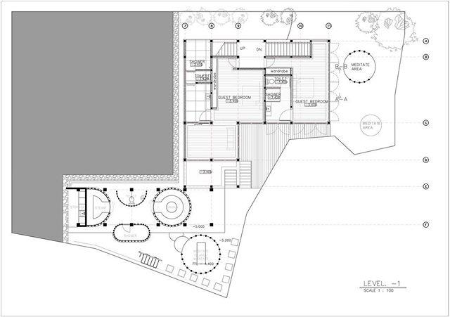 House A Ground floor. #alexisdornier #alexisdornierarchitecture #bali #indonesia