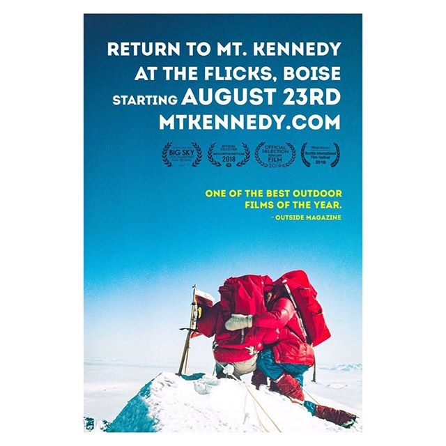 Hey #Boise. Come join us for one of our many screenings of @mtkennedyfilm starting this Friday, August 23rd at the Flicks. Screening times at mtkennedy.com. Tickets are available at the box office. #theflicks #208 #boiseevents #208events #boisefilm #mtkennedyfilm