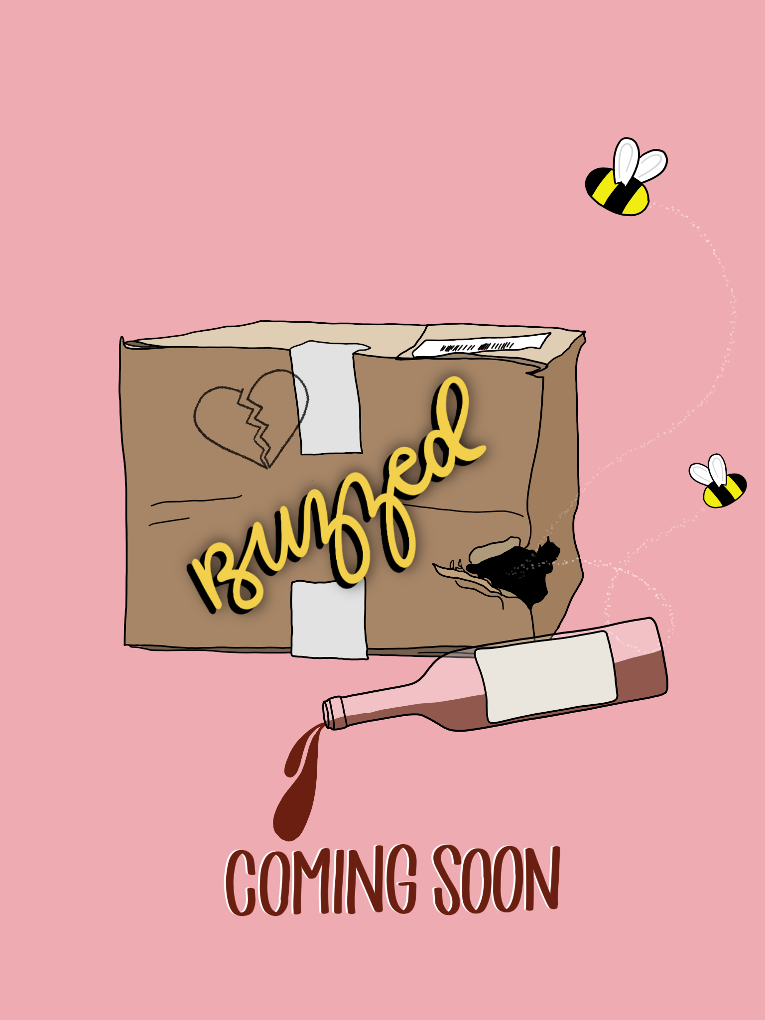 BUZZED - Boys and breakups and bumble...BUZZED is coming later this summer! We shot this short in early May and I'm really excited to share the whole thing with you guys in just a couple of weeks! 🐝