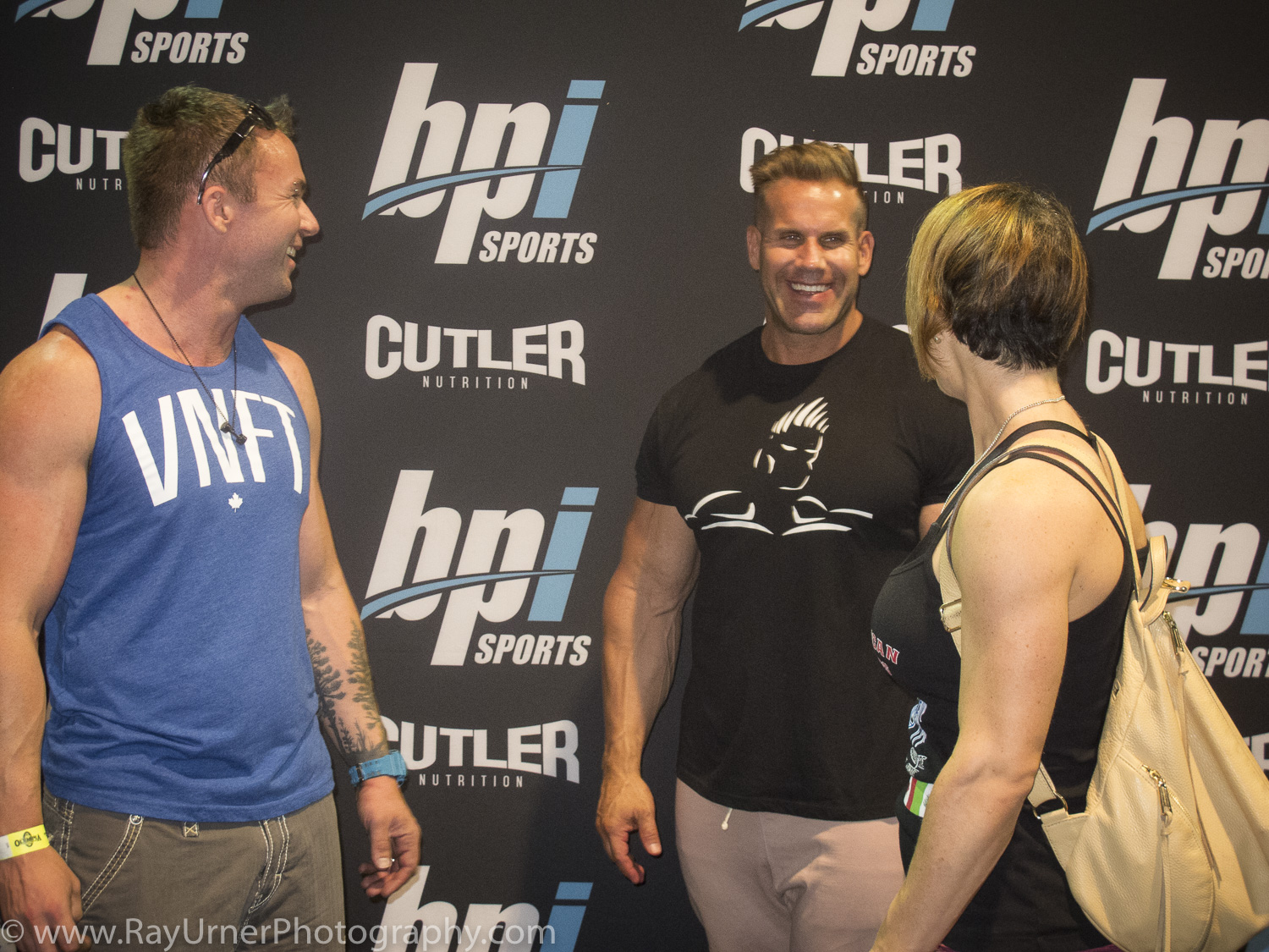 Ray, Mandy, and Jay Cutler - Olympia Expo 2017