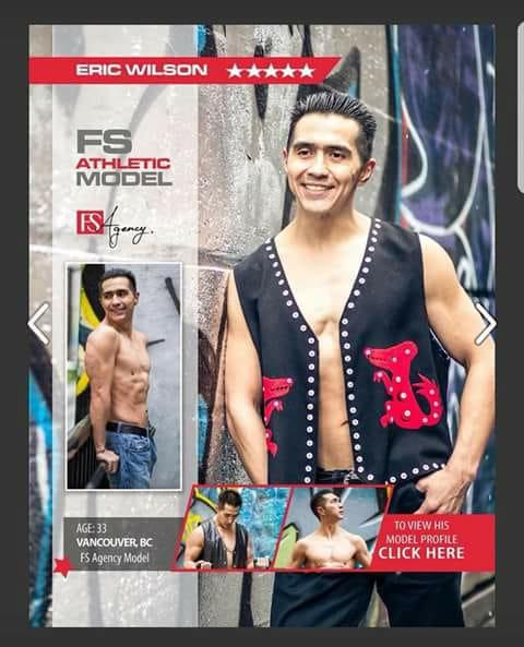 Eric Wilson in  Fitness Star Magazine
