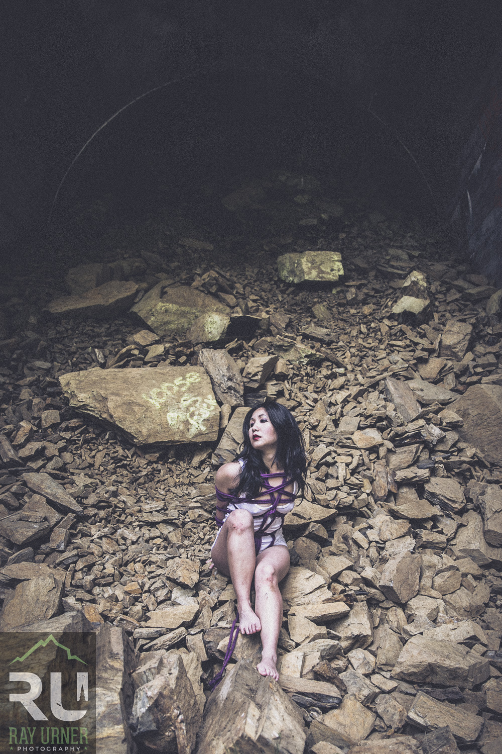 Shibari Bondage Fetish photoshoot at abandoned train tunnel (2 of 9).jpg