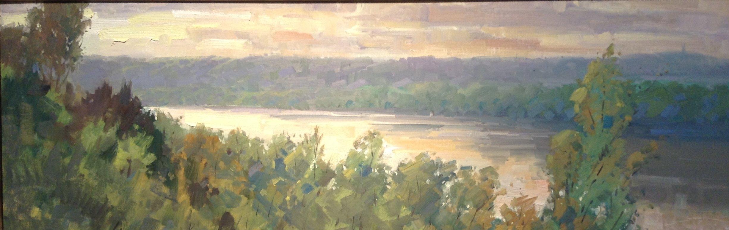 Sunrise on the Missouri