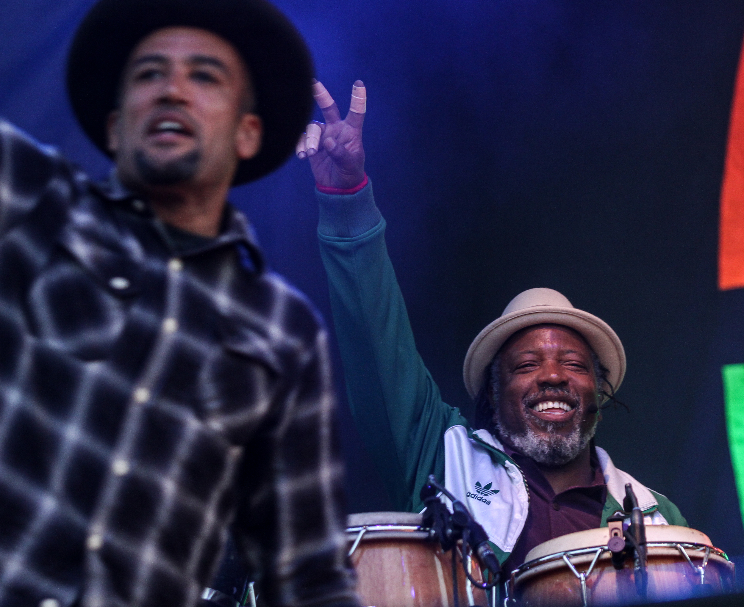 Ben Harper and the Innocent Criminals perform at Boston Calling on May 23, 2015 in City Hall Plaza.