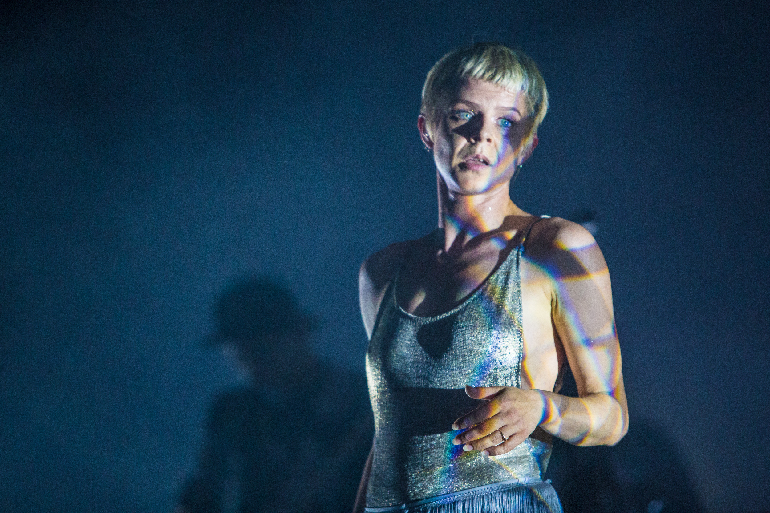 Robyn performs on Saturday.