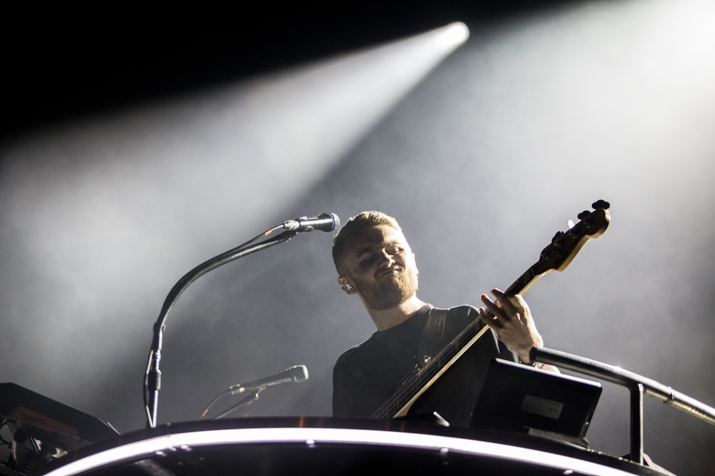 Disclosure performs as the last act of the festival Sunday.