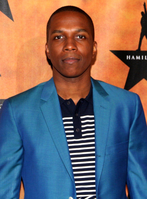 "Leslie Odom, Jr. , who plays Aaron Burr in the musical,  ""Hamilton"""