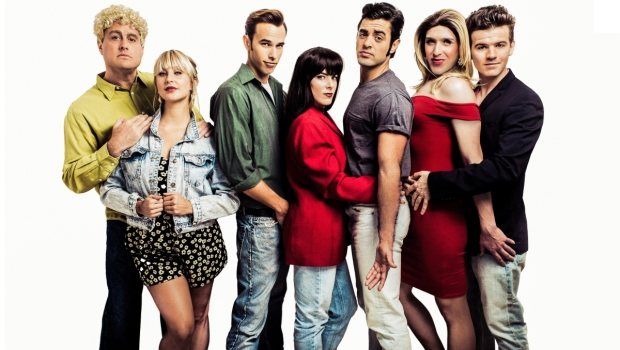 TheaterMania: A promotional image of the cast of  90210! The Musical!  (© Chad Wagner)