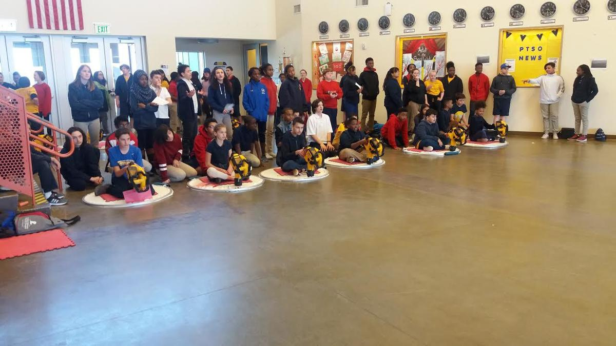 The Hovercraft Project travels from city to city to work with schools, education organizations, after-school programs, religious institutions and community centers. Submitted Photo.   View article.