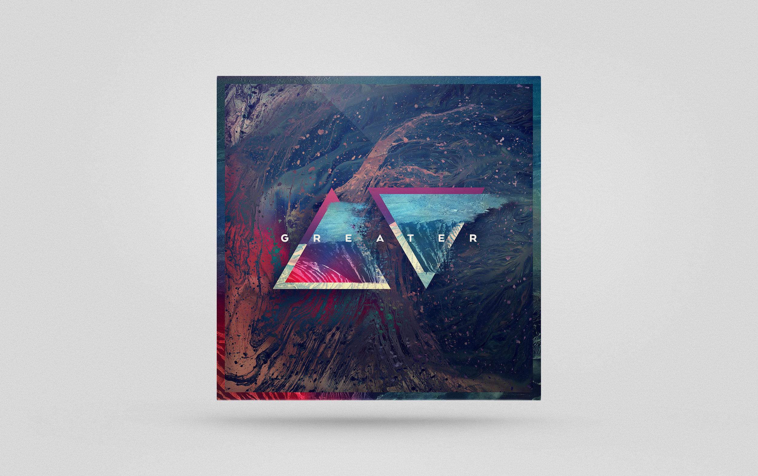 Central Live - Greater Album Design