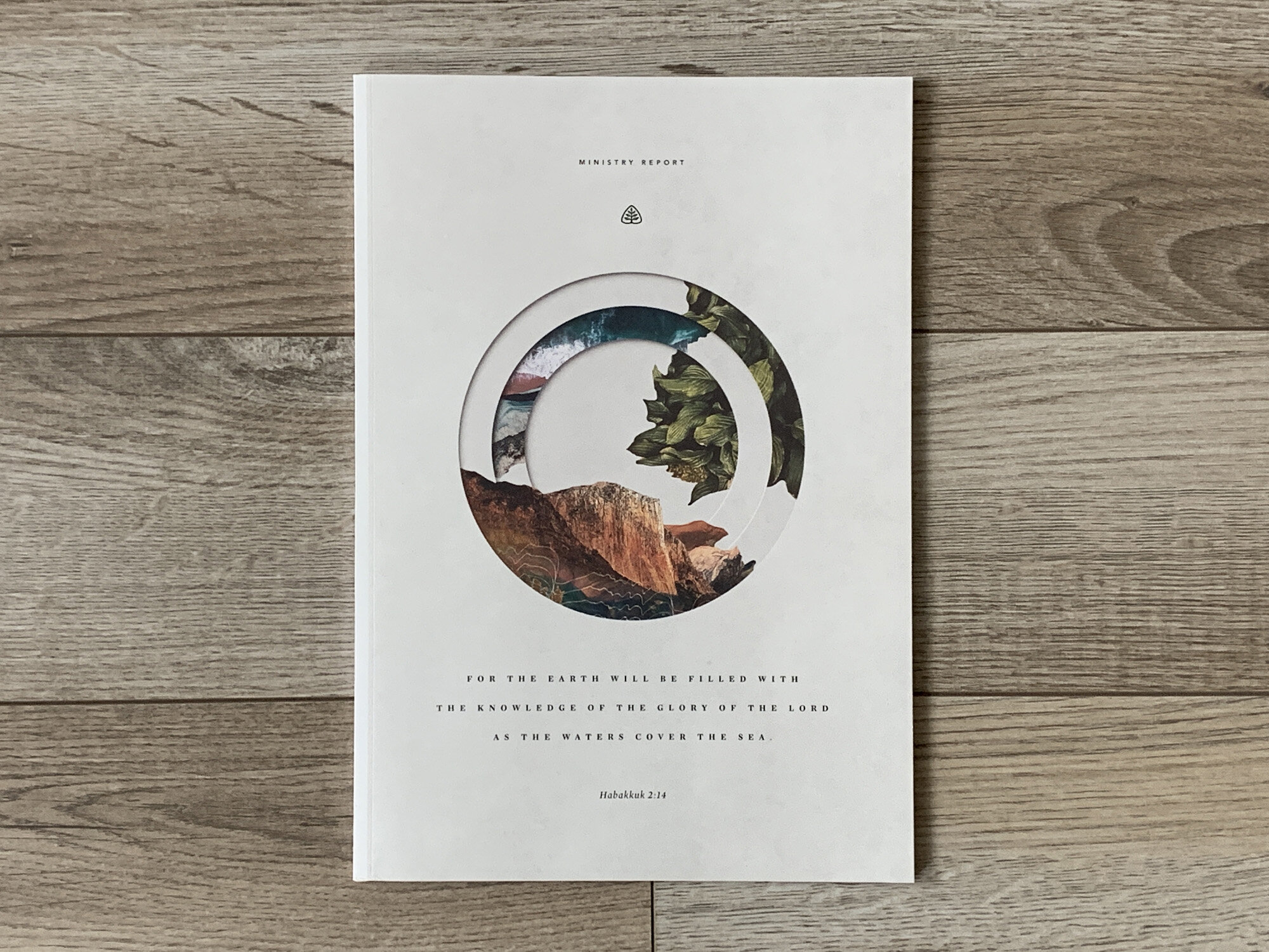 Cover and feature visuals for Ligonier's 2018 Ministry Report