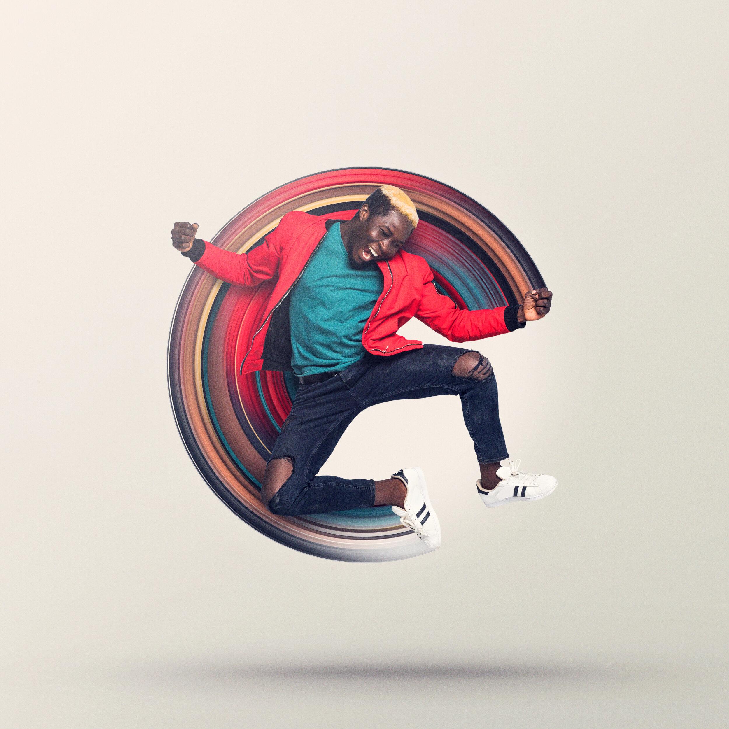 Circular Stretch Effect