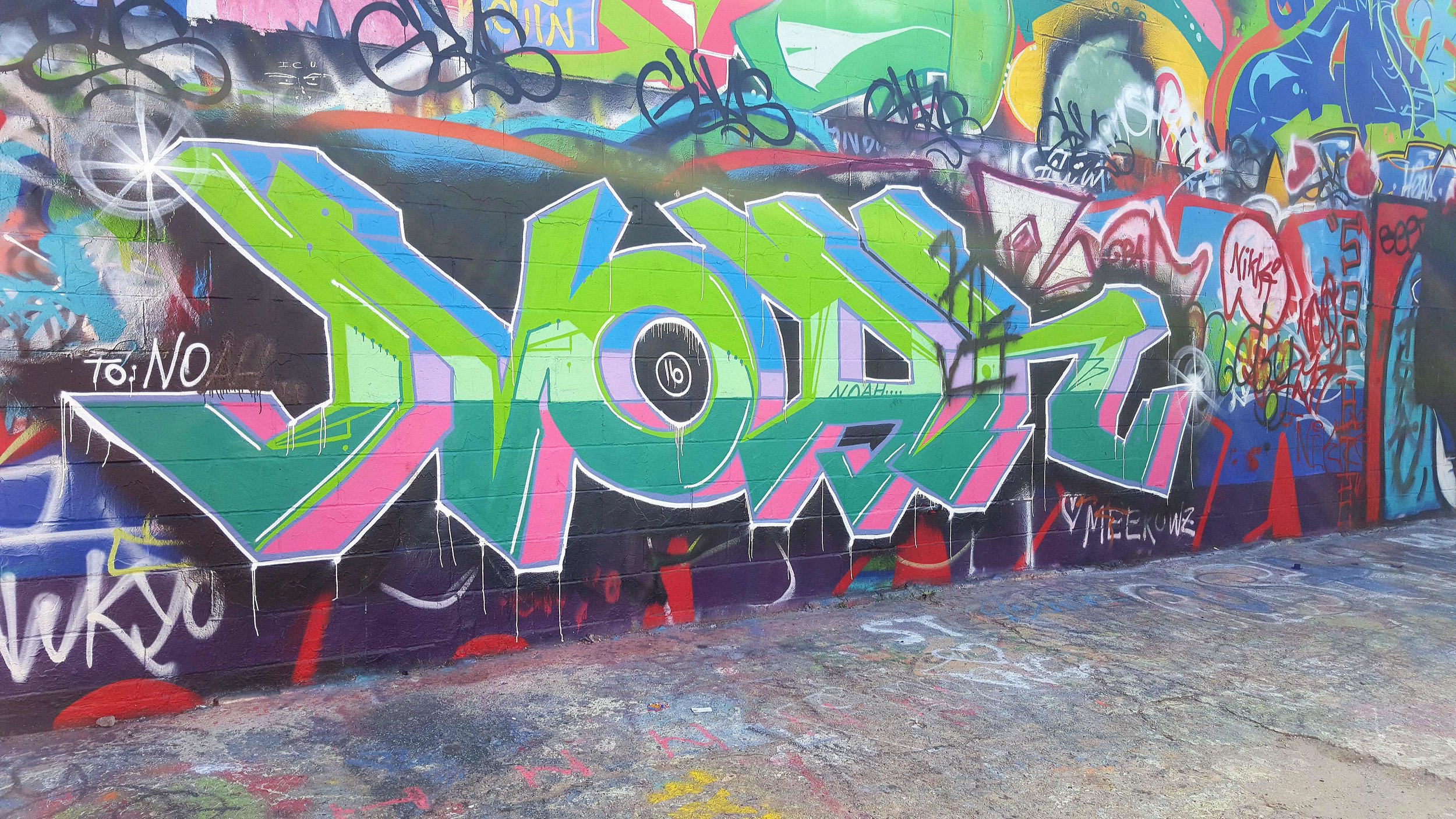 "Graffiti Alley ""Noah"""
