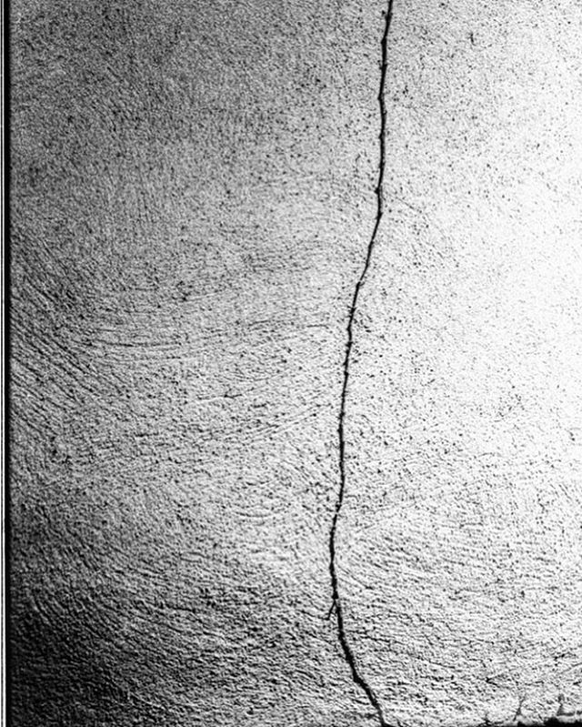 The Crack in Everything. #abstractphotography #abstractphoto #sensations #filmgrain #nycphotographers #darkroom #textures #analogphotography #analogfilm #analogcamera