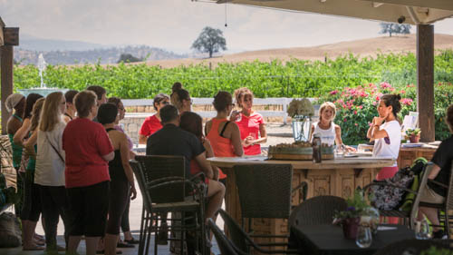 REtreat, Renew and Re-wine in Luxury - a day-retreat at Fasi Estate Winery in Madera on June 6th. In this activity we learned about the importance of a self-massage and renourishing your skin with essential natural oils.
