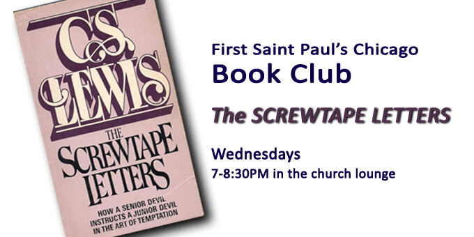 Book Club - The Screwtape Letters