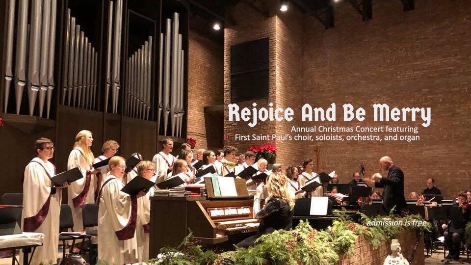 First Saint Paul's Christmas Concert