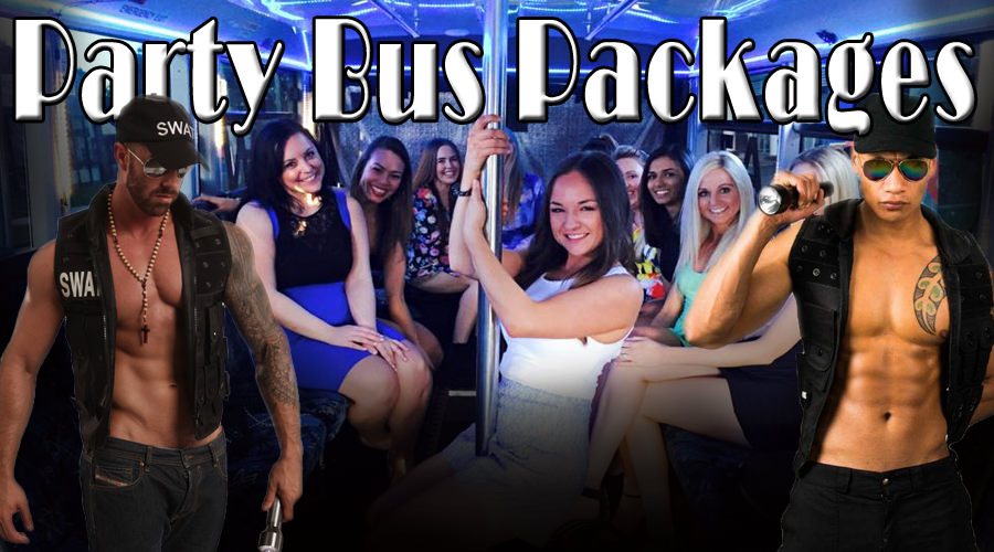 popular hens night packages in gold coast. surfers paradise party bus packages for hens nights. pricing information and male entertainment.