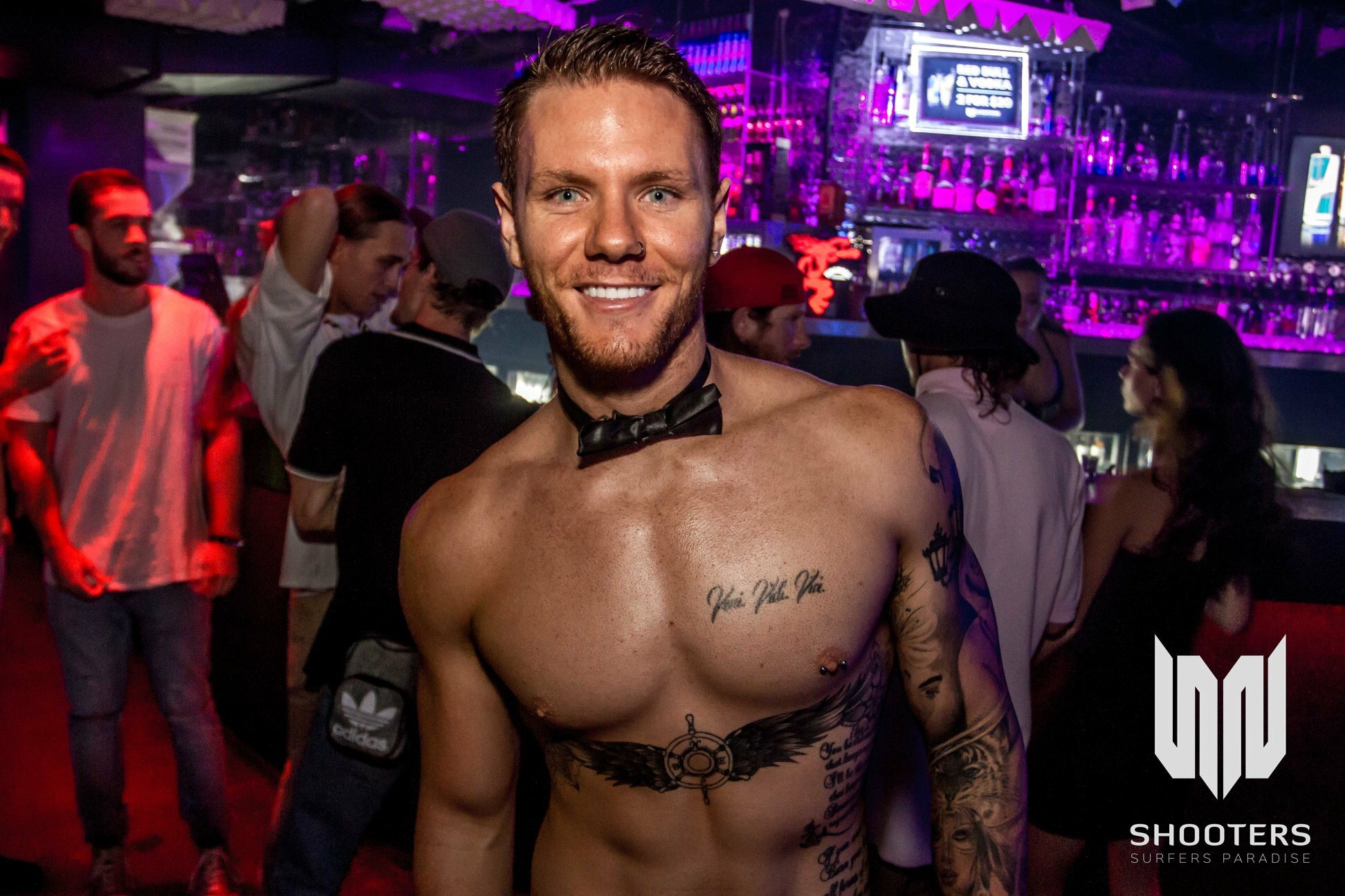 hire a hot topless waiter or topless bar tender and host for your next private function and party. gold coast. brisbane. byron bay. coolangatta.