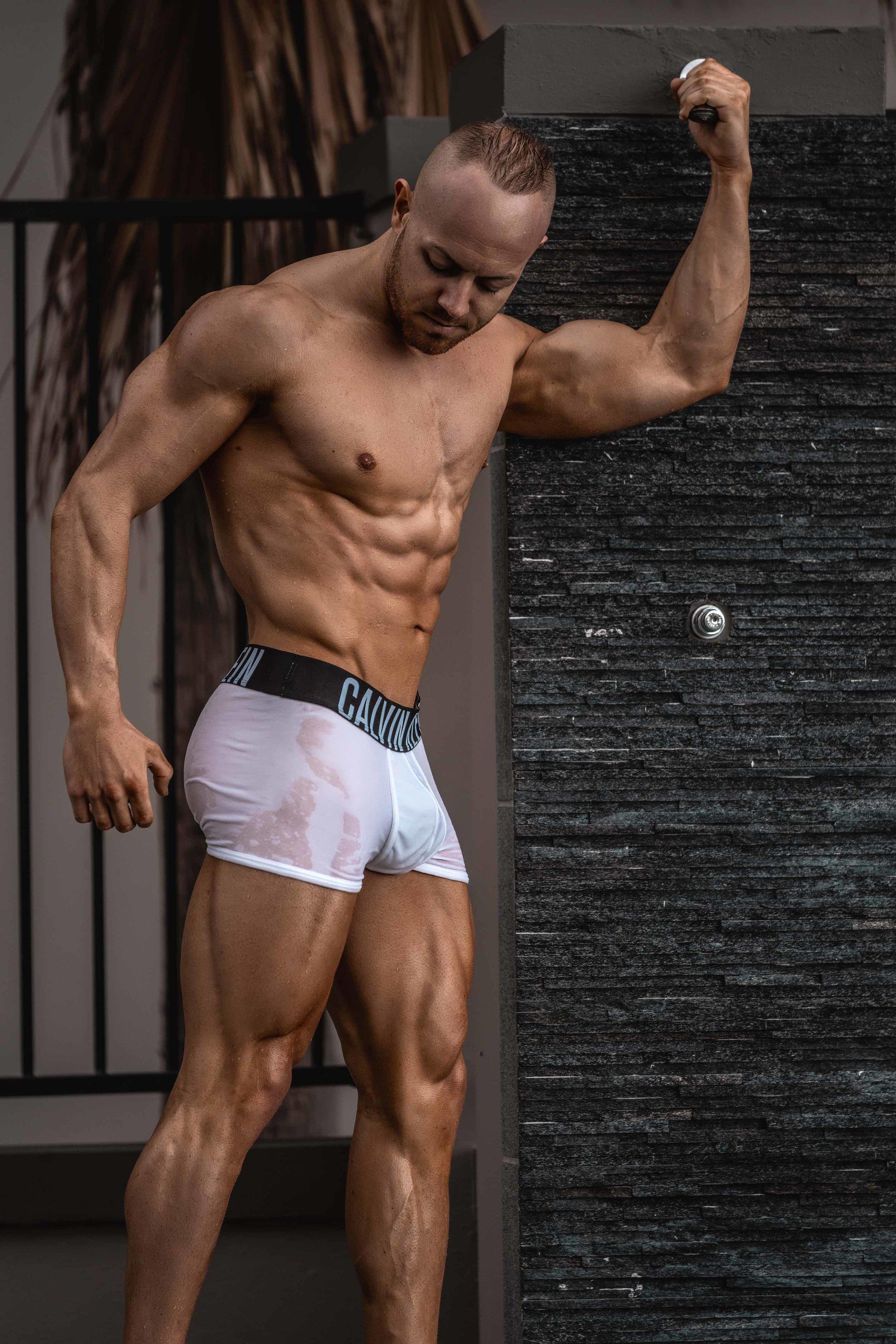 hot aussie men for hire topless waitering butler work in gold coast