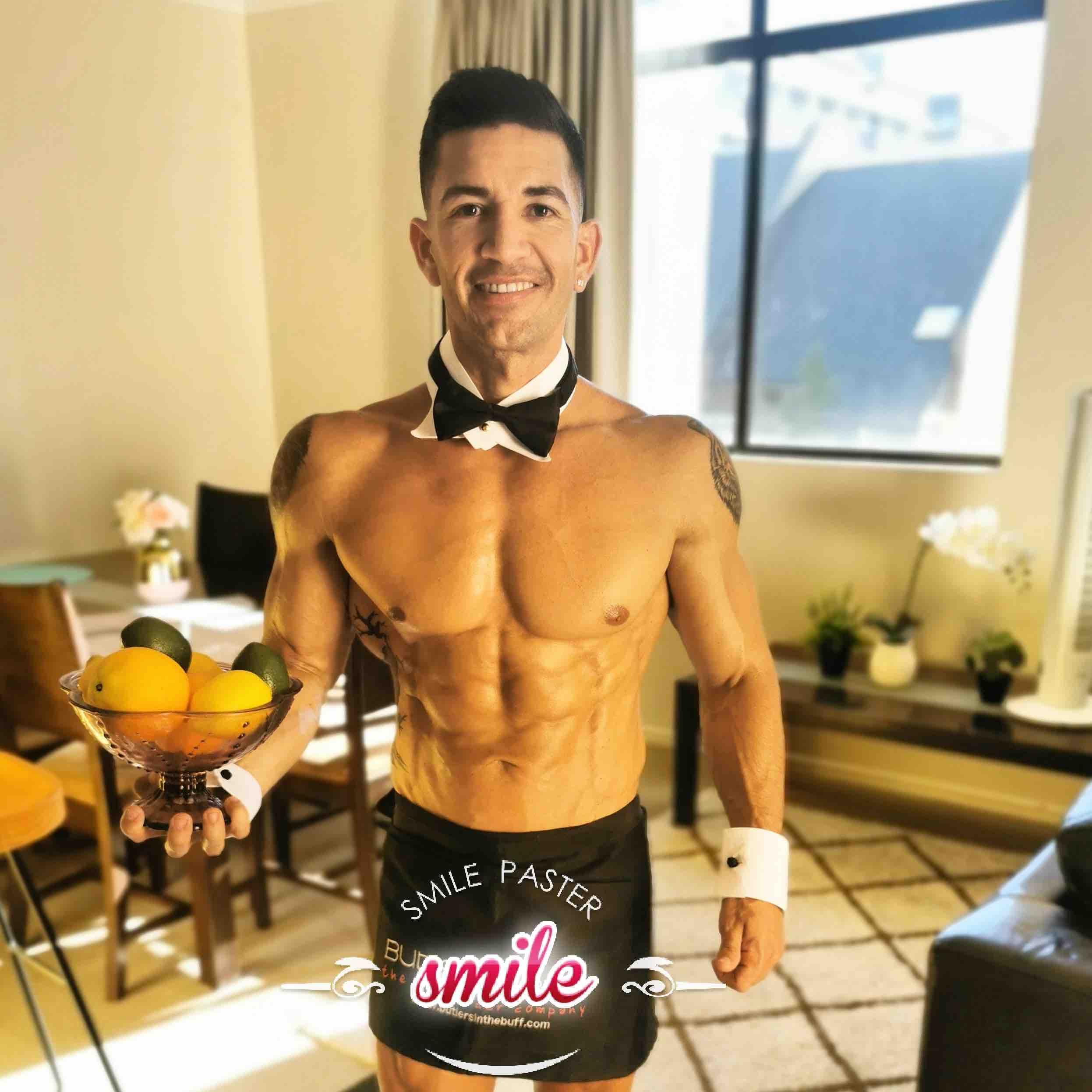 south brisbane topless waiters hunky men
