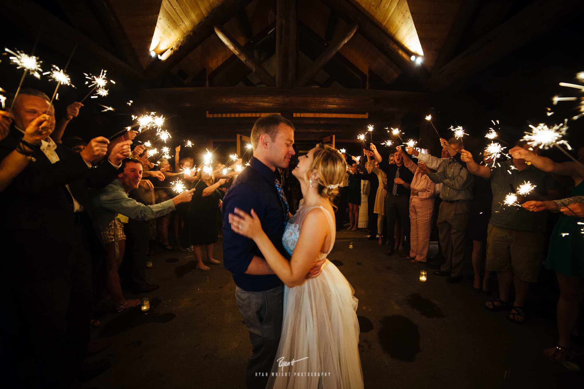 Breckenridge wedding outdoor photographer bridal party breck weddings