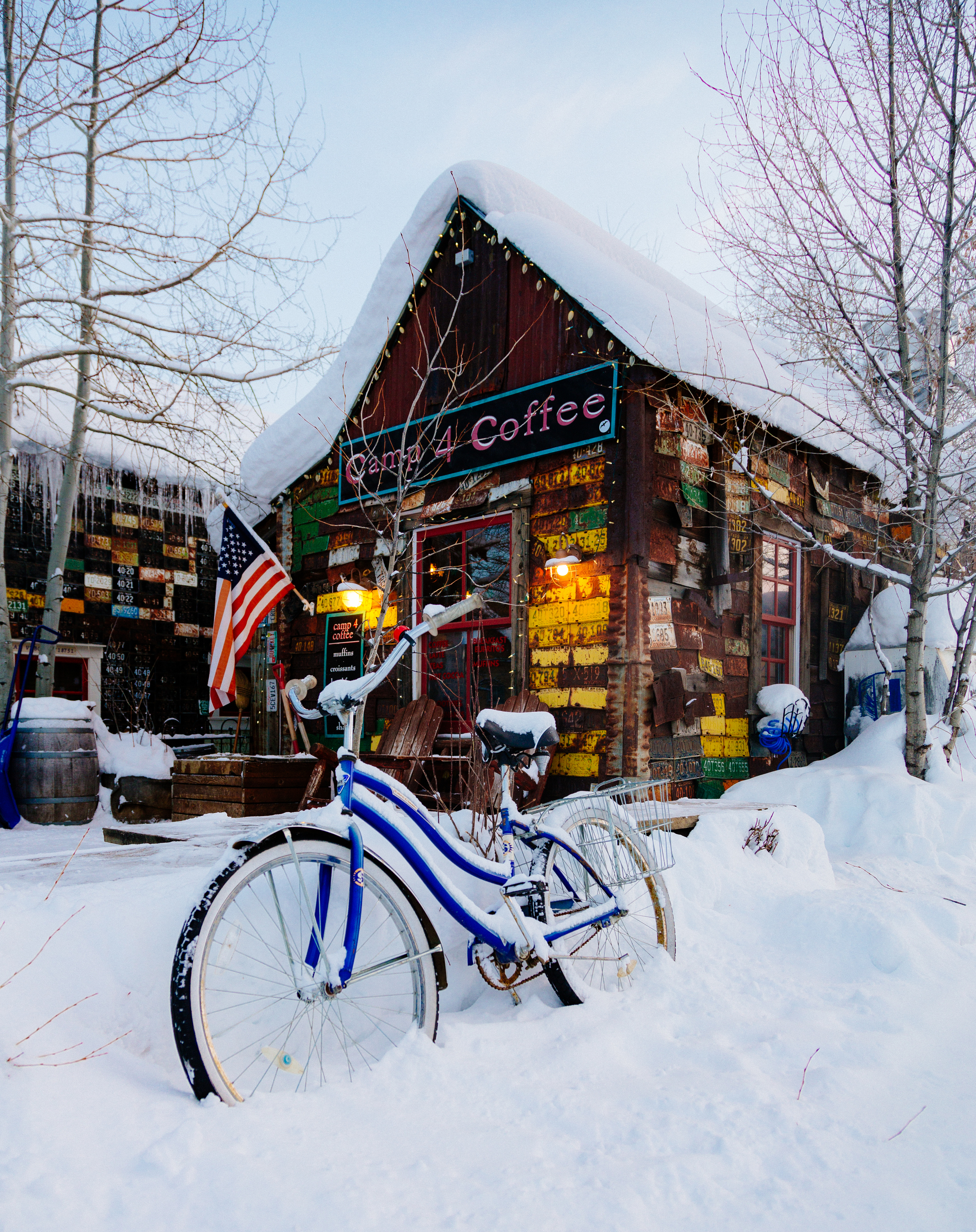 Camp 4 Coffee - A Crested Butte institution