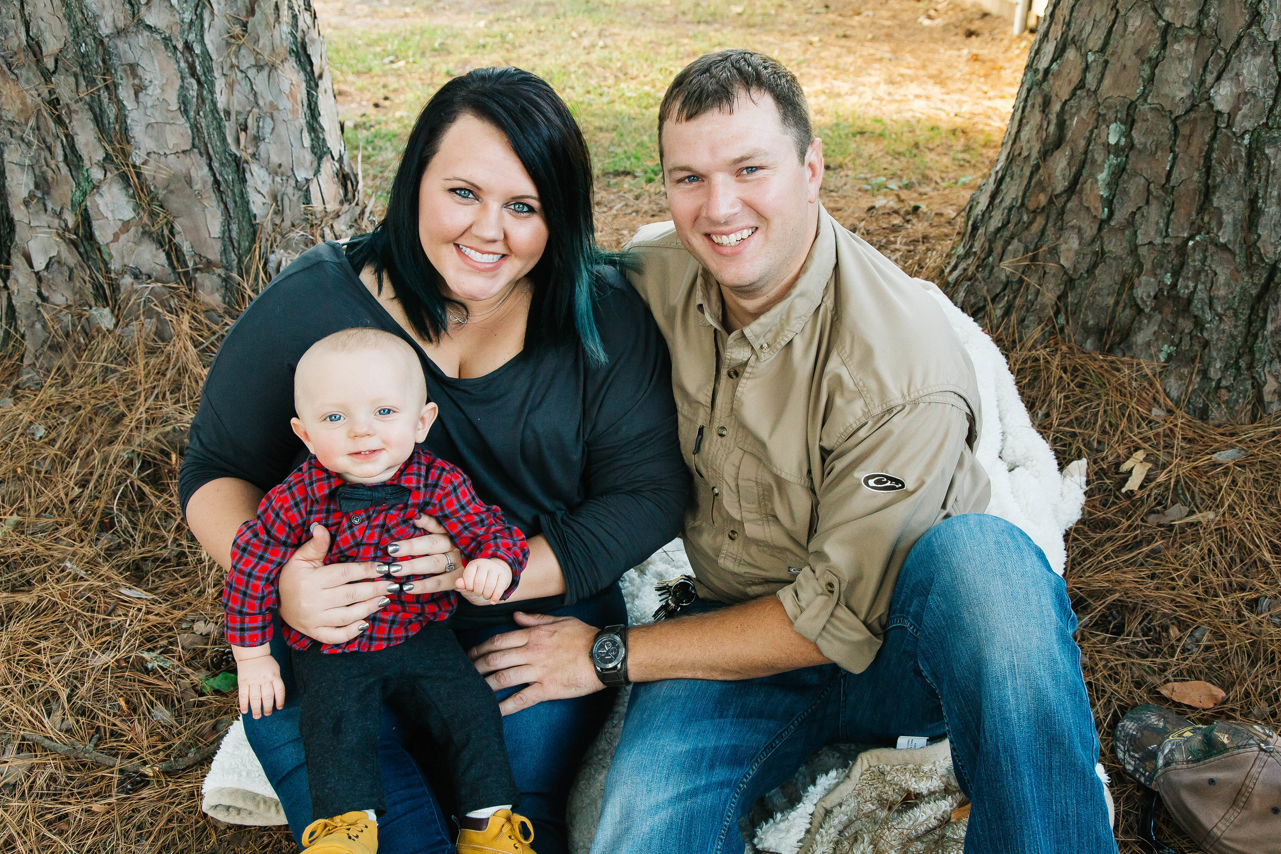 Lake Charles Family Portrait Photography