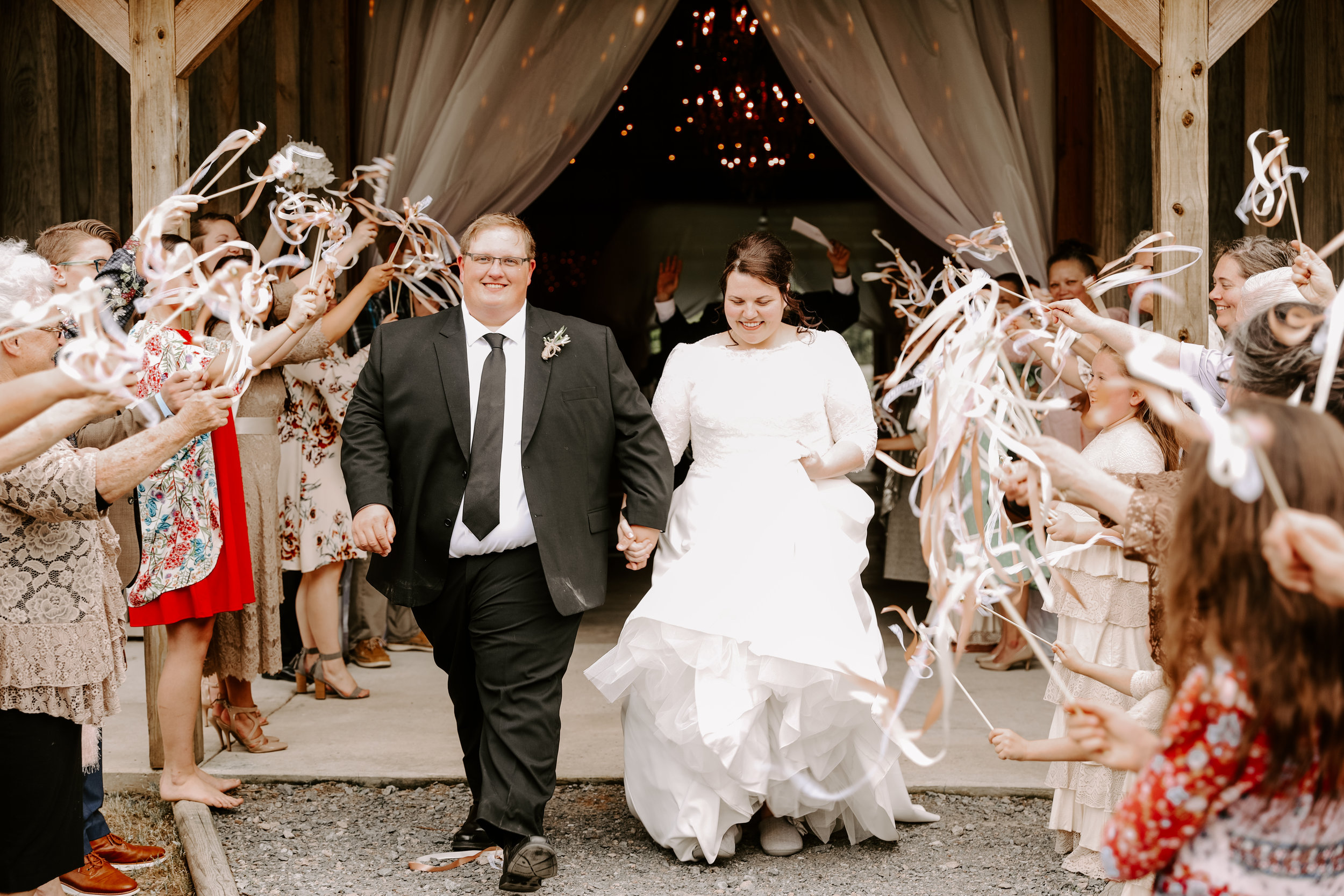 Wedding Exits | Lake Charles | Baton Rouge | Wedding | Photography | Videography