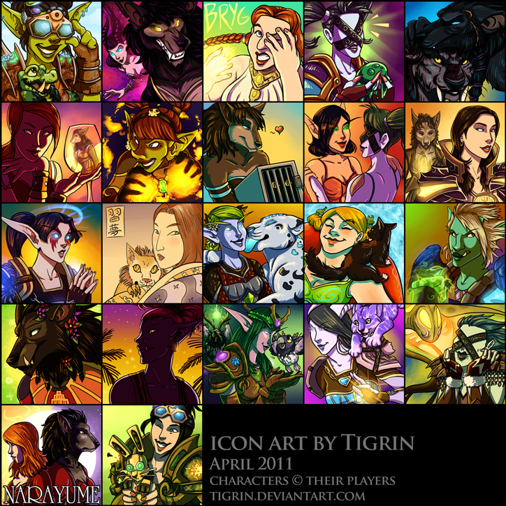 WoW icon commissions