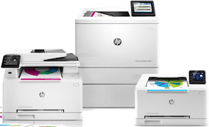 HP Printer Range
